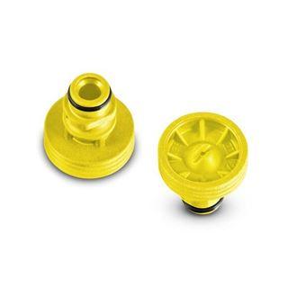 Bild på T-Racer-munstycke, gul, K6 - K7